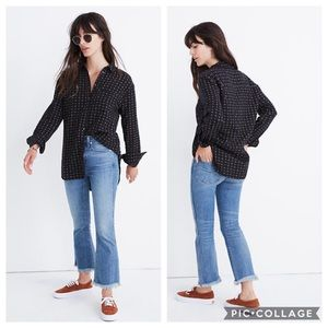 Madewell Oversized Ex-Boyfriend Shirt in Mayfair